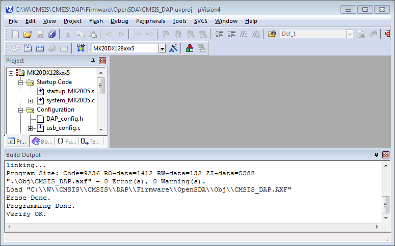 Flash Program Firmware