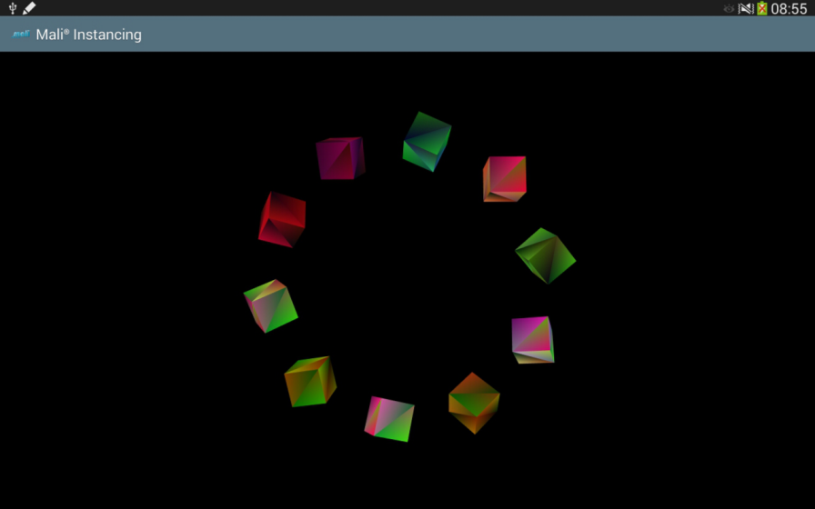 OpenGL ES SDK for Android: Instancing