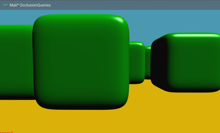 OpenGL ES SDK for Android: Occlusion Query