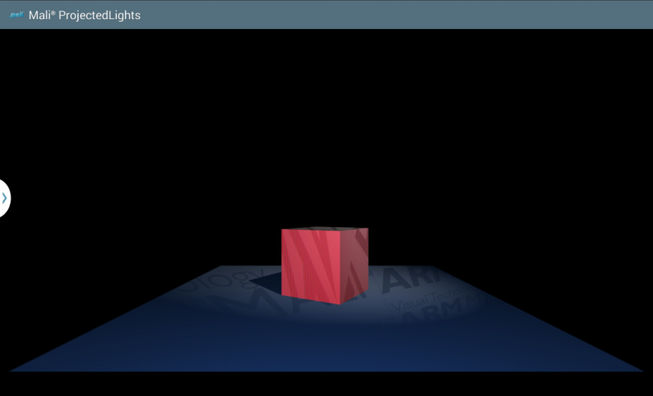 OpenGL ES SDK for Android: Projected Lights