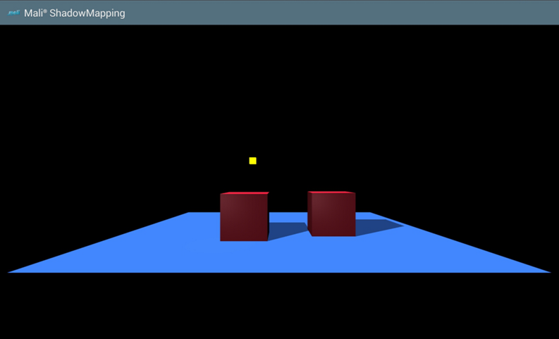 OpenGL ES SDK for Android: Shadow Mapping