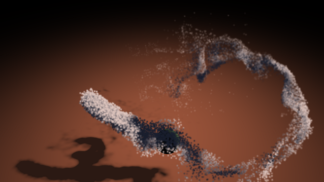 OpenGL ES SDK for Android: Particle Flow Simulation with